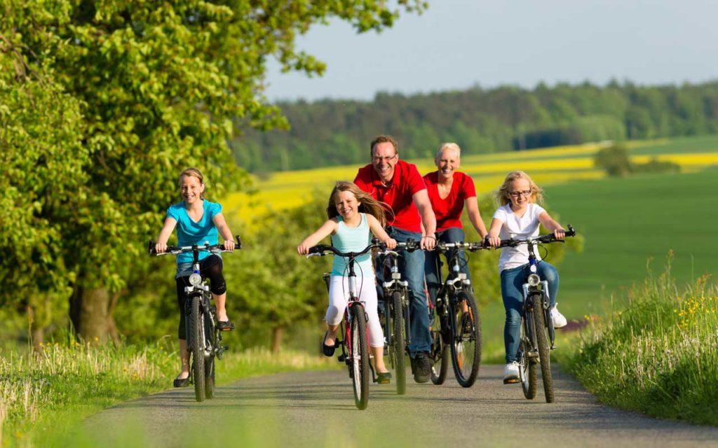 Itinéraires de vélo